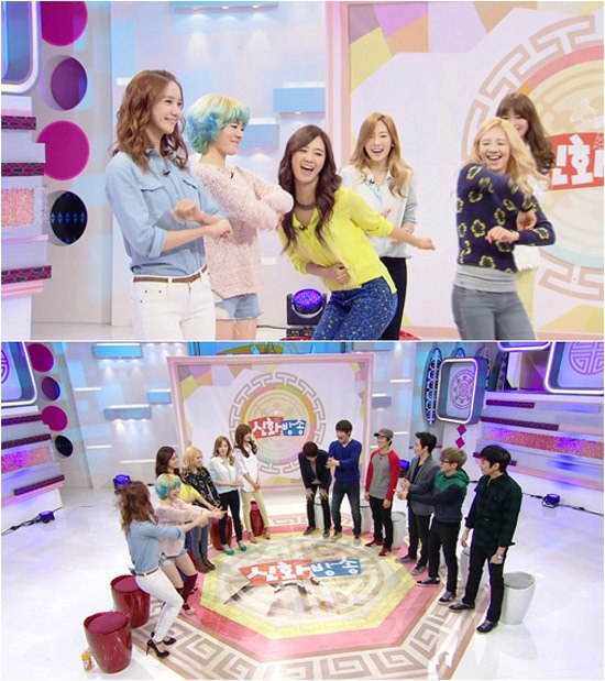 SNSD showed their fierceness over the appearance for 'Shinhwa Broadcast'