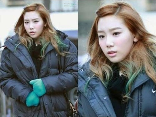 Girls' Generation's Taeyeon Frowns Adorably on Her Way to Work!