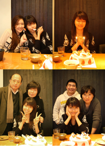 Sooyoung celebrates birthday w/ her family!