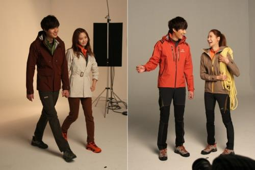 Yoona and Lee Minho - Eider Photobook Shooting!
