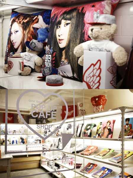 SNSD Pop-Up Café Opens on Seoul′s Garosugil!