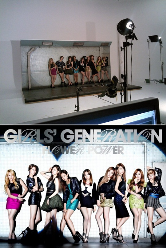 SNSD's Photo Shoot Location Released!