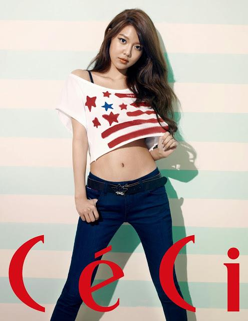 Sooyoung and Seohyun Featured in 'CeCi' Magazine for Photoshoot and Interview!