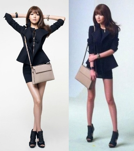 Sooyoung Looks the Same Before and After Photoshop!