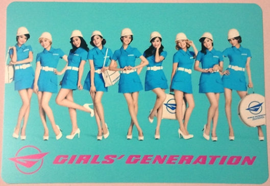 SNSD Photo Cards from 2nd Japan Tour!