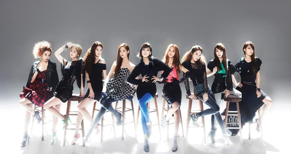 SNSD: Top 2 in FORBES KOREA's Top 10 Celebs!
