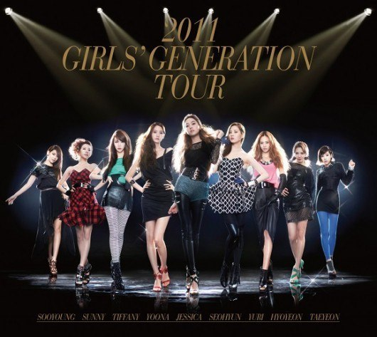 SNSD will release '2011 Girls' Generation Tour' Live Concert Album this April!