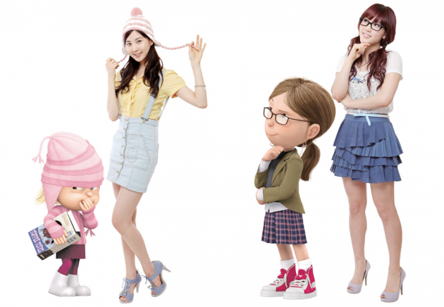 Taeyeon and Seohyun to Reprise Roles for 'Despicable Me 2′