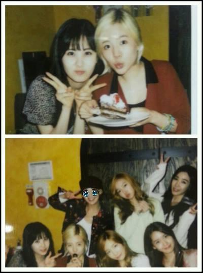Seohyun greets Sunny a Happy Birthday!