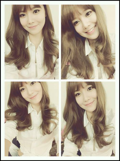 Sooyoung greet fans with her lovely Selca photos!