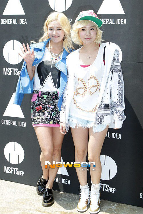 SNSD's Sunny and Hyoyeon attended 'MSFTSrep' and General Idea's event in Seoul!