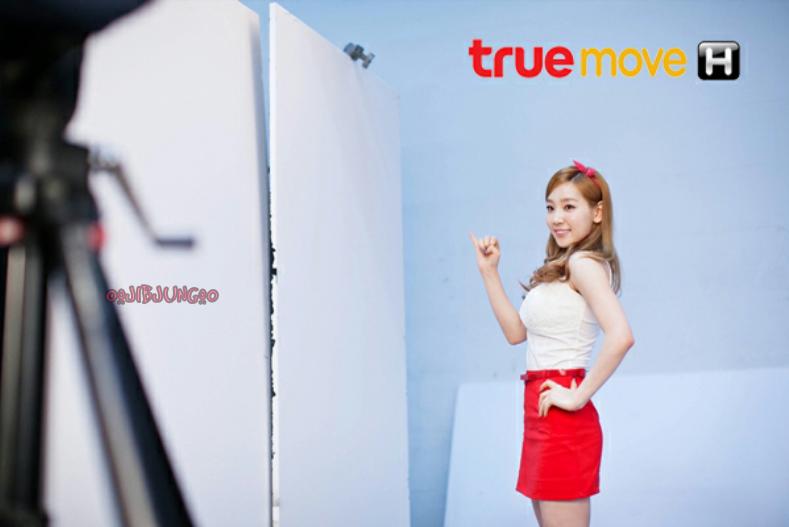Girls`Generation's TrueMove H Behind the Scene Photos!