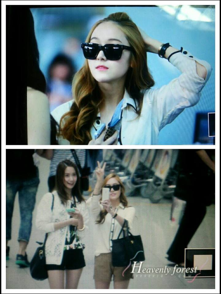 SNSD at Airport to Taiwan to attend Happy 4 Kpop Concert!