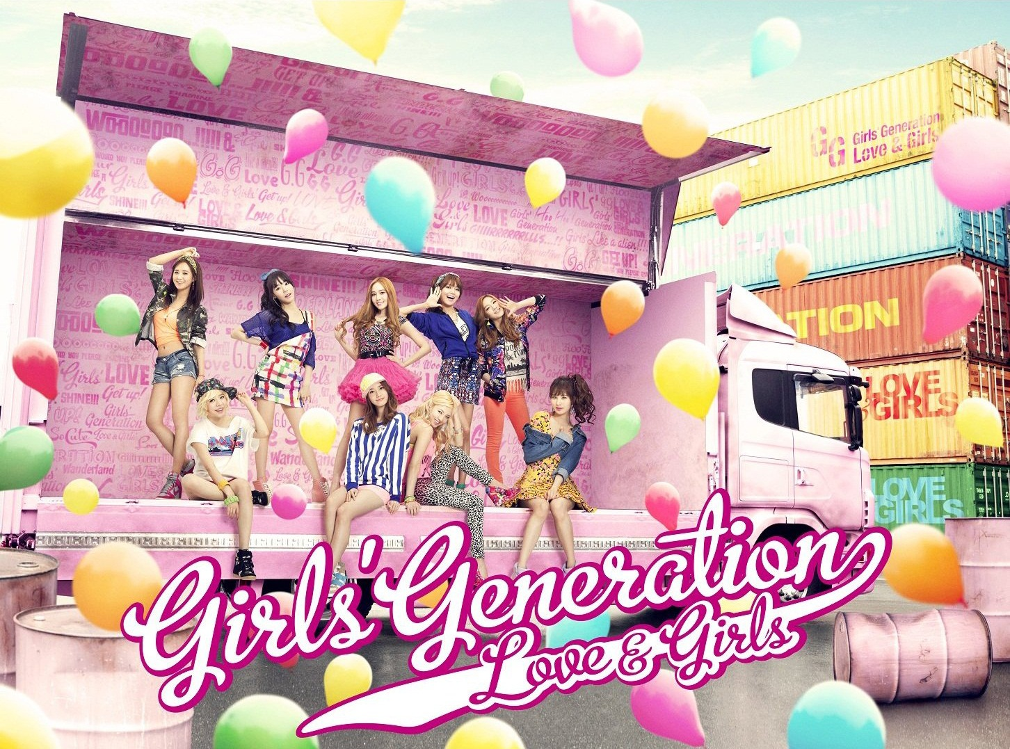 SNSD 'Love & Girls' Lyrics (English and Romanization)