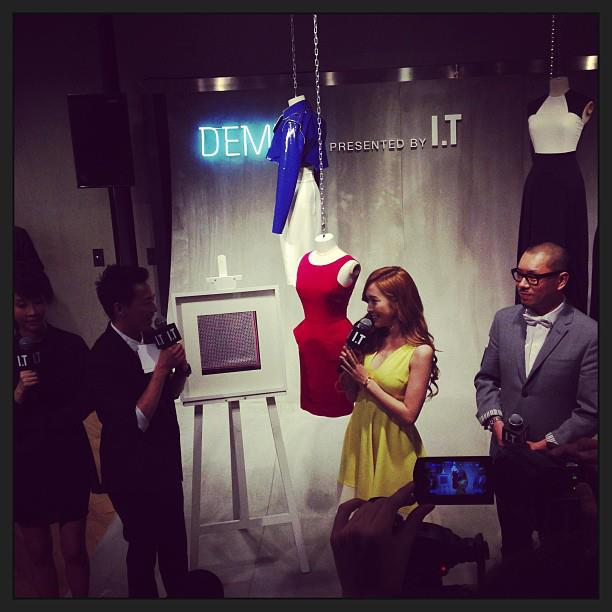 Jessica and her photos from the Denim Popup Store event in Hong Kong!