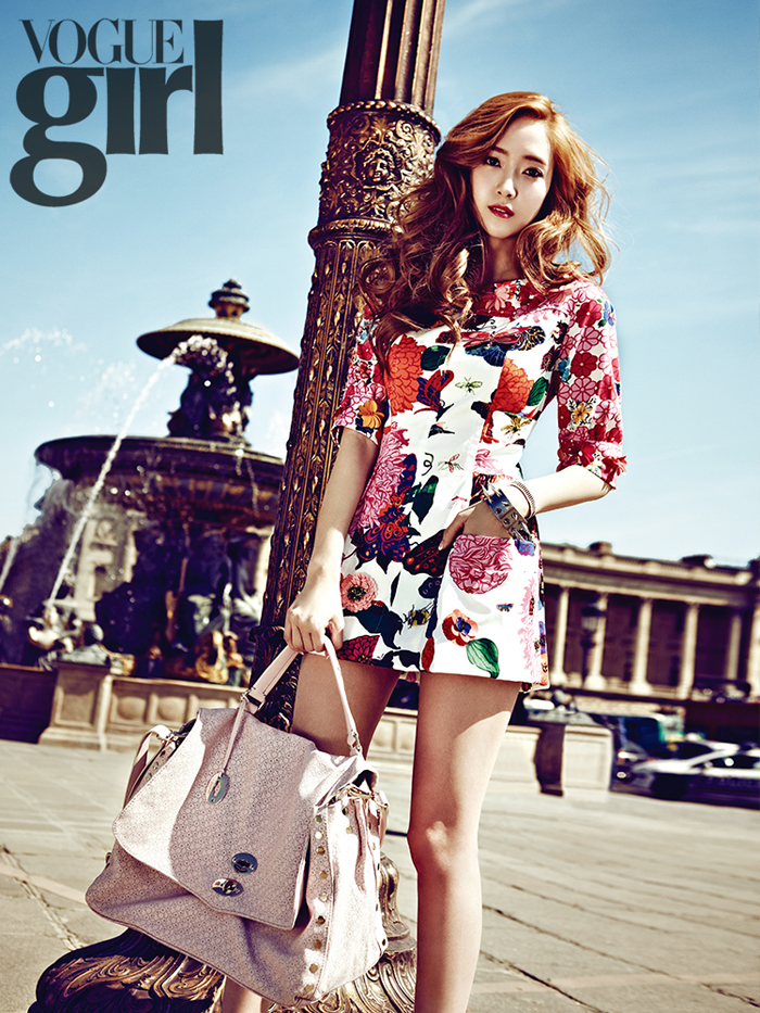 Jessica and her gorgeous photo scans from 'Vogue Girl'