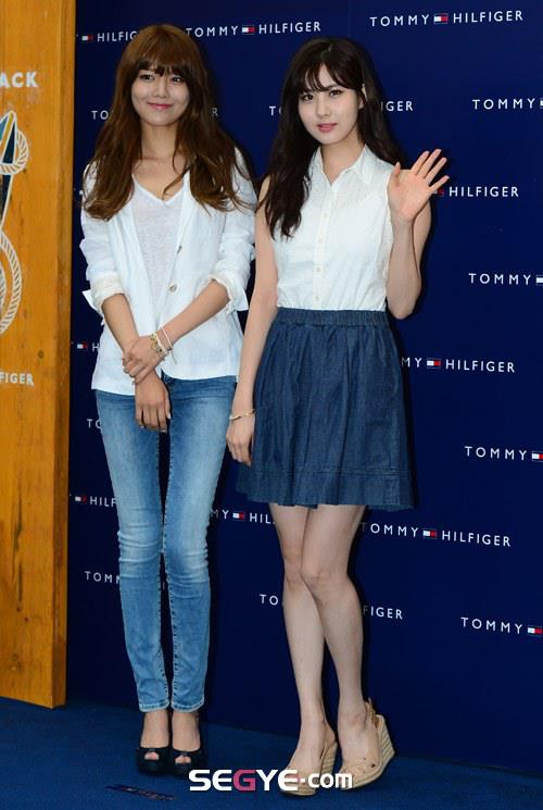 Sooyoung & Seohyun went at TOMMY HILFIGER Event!
