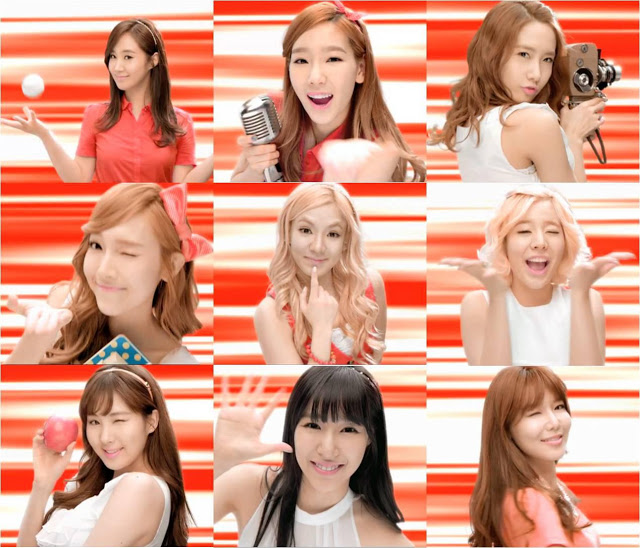 Girls`Generation has been chosen as the ambassadors of Thailand's TrueMove H!