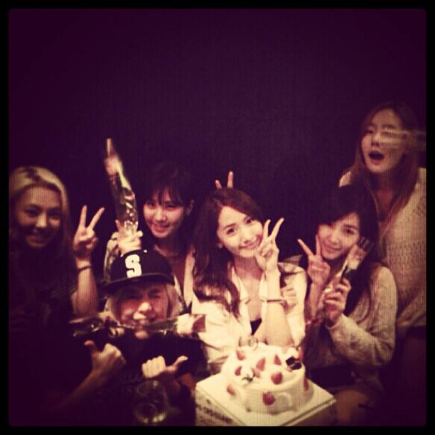 Girls`Generation Celebrates Yoona's Birthday!