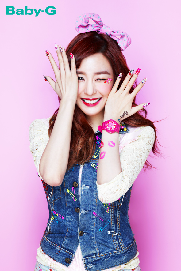 SNSD's Tiffany will throw the opening pitch for the match between Los Angeles Dodgers and Arizona Diamondbacks!