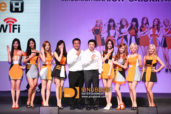 SNSD's clips and pictures from TrueMove H's event in Thailand!
