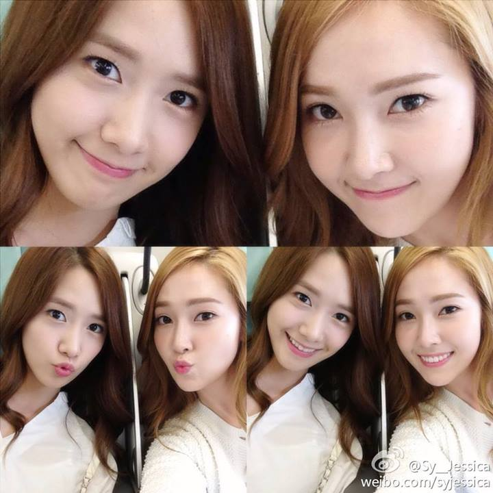Girls`Generation's Jessica Snapped Cute Photos with Yoona!