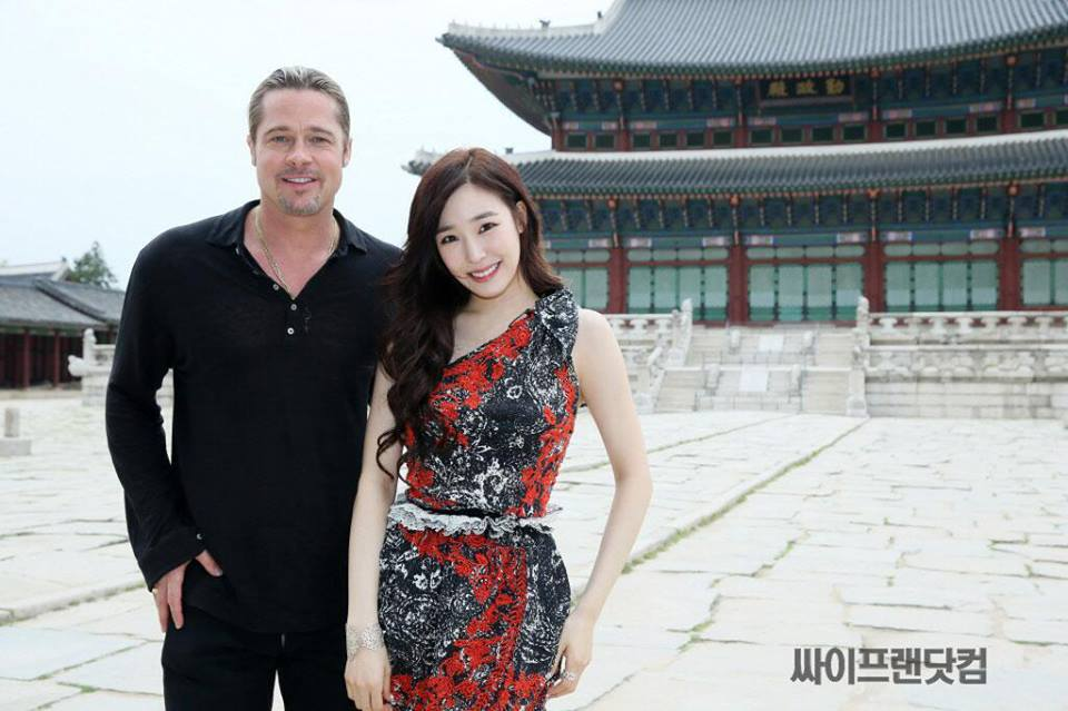 SNSD Tiffany's Interview with Brad Pitt for Hanbam!