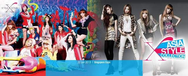SNSD Greets Their Fans for the '2013 Asia Style Collection' in Singapore this June!