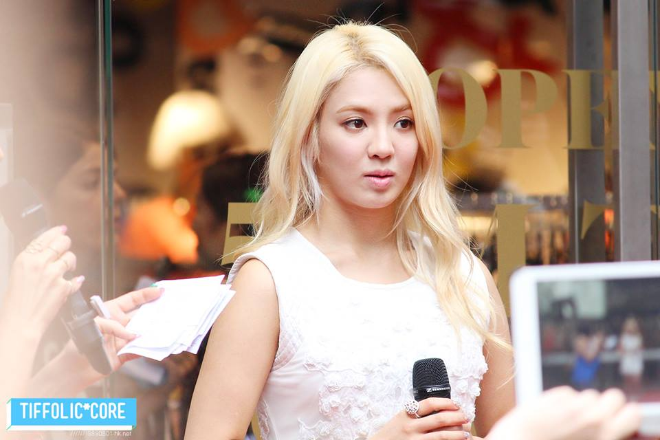 SNSD's Hyoyeon at Top Shop's Opening Event in Hong Kong!