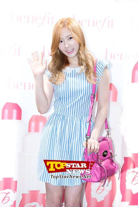 Girls`Generation's Taeyeon at Benefit's Event!