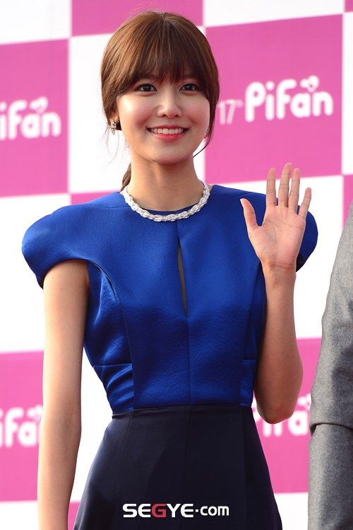 Girls`Generation's Sooyoung at The 17th Puchon International Fantastic Film Festival!