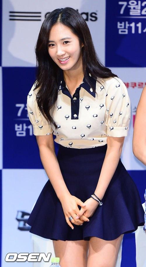 snsd yuri hyoyeon dancing 9 presscon (76)