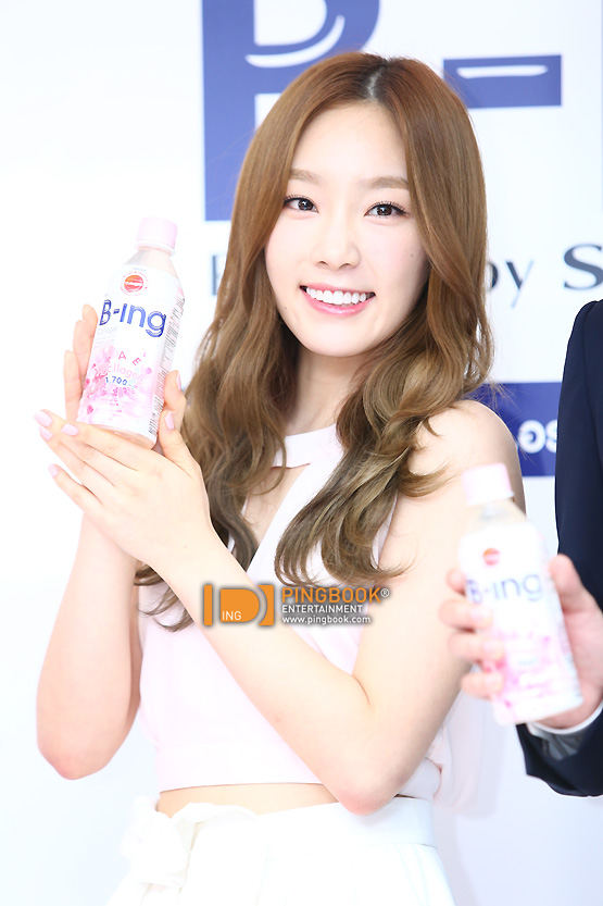 Girls`Generation's Taeyeon at 'B-ing' Press Conference in Bangkok!