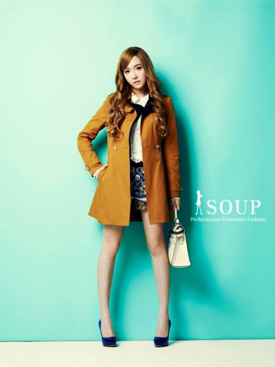 Girls`Generation's Jessica for 'SOUP'