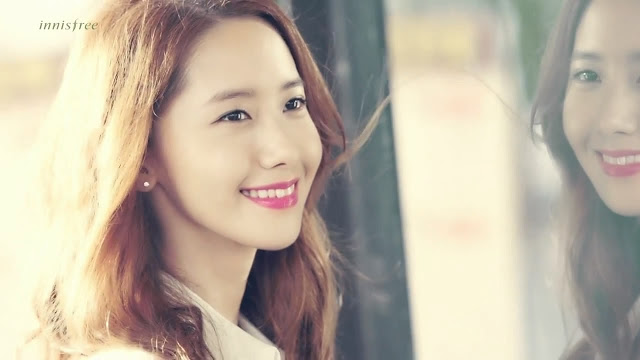 Girls`Generation's Yoona with her New 'Innisfree' CF!