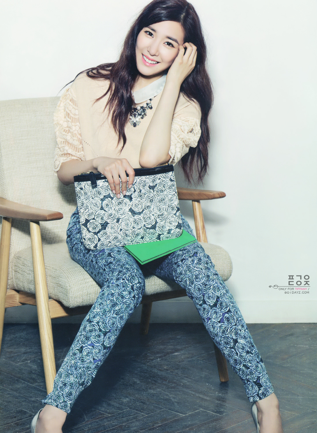 Girls`Generation's Tiffany for VOGUE GIRL September Issue!