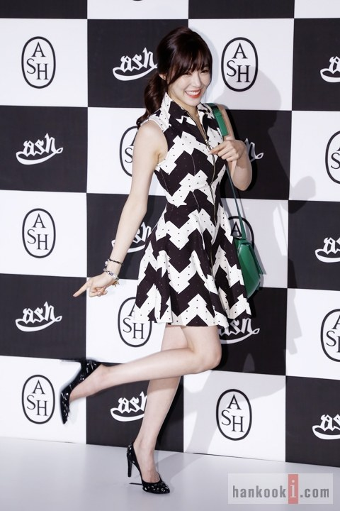 Girls`Generation's Tiffany at the ASH 2013 AW Fashion Collection Event!