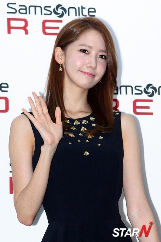 Girls`Generation's Yoona at Samsonite Red 2013 FW Event!