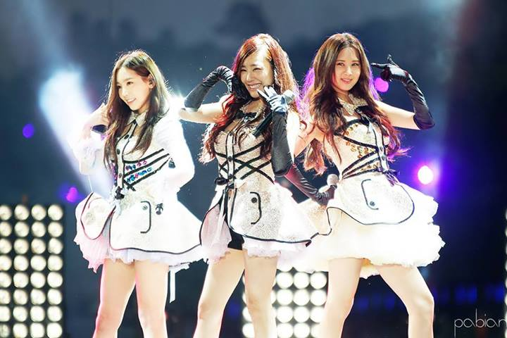 SNSD TaeTiSeo's Photos from the Suncheon Bay International Garden Expo KPop Concert!