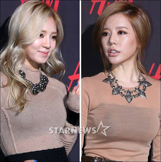 Girls`Generation's Hyoyeon and Sunny at H&M's Event!