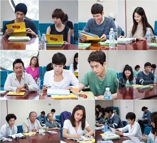Girls`Generation's Seohyun at the First Script Reading of 'Passionate Love'