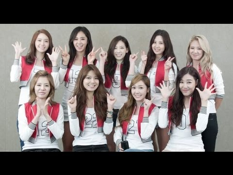 Girls`Generation Promoting Kakao's Mobile Game 'Magu Magu'