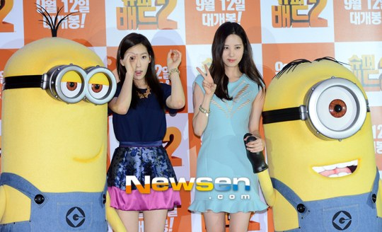 Girls`Generation's Taeyeon and Seohyun Interviewed by 'Magazine M' About 'Despicable Me 2′