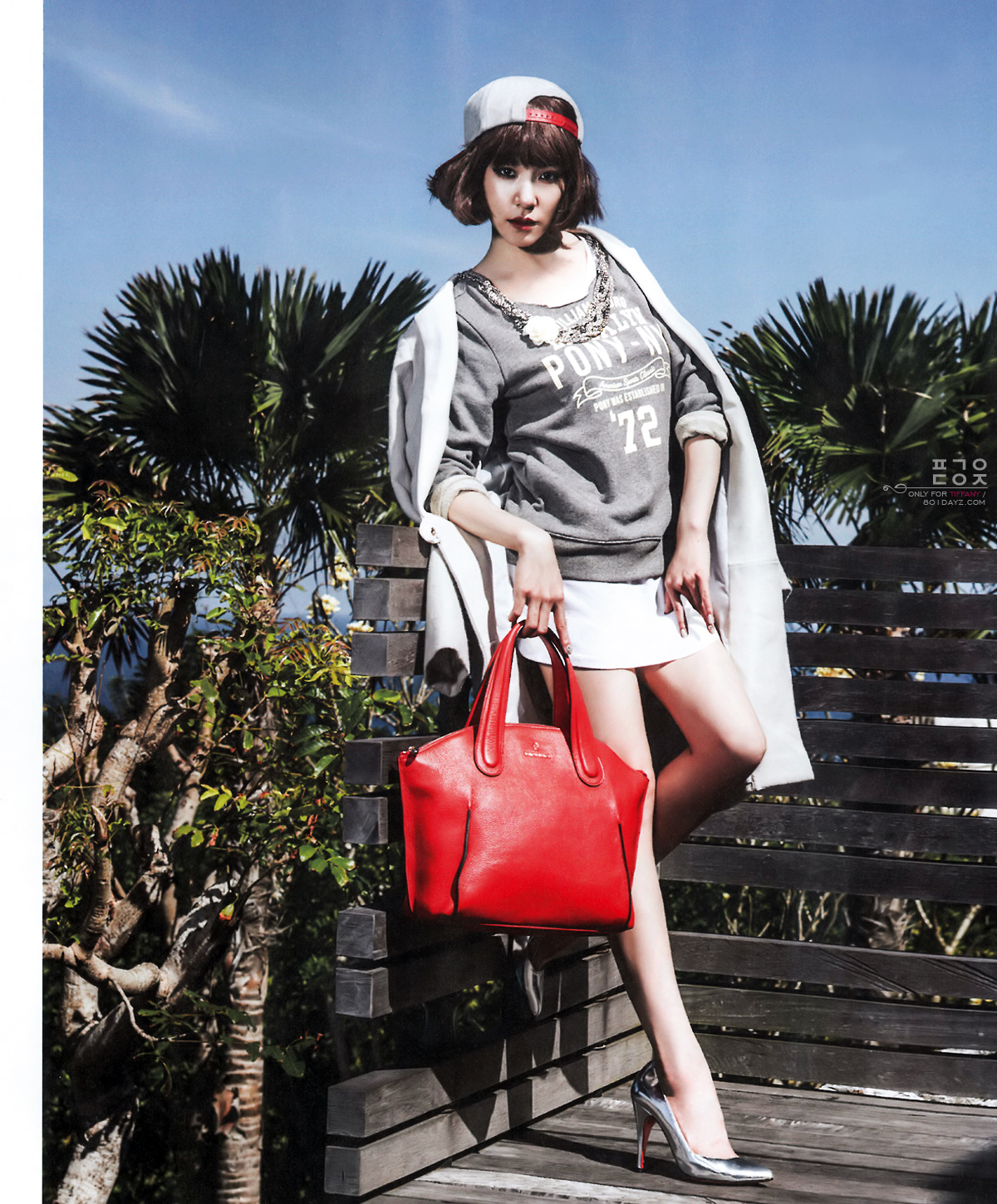 Girls`Generation's Tiffany in Bali for NYLON Magazine October Issue Plus Interview!