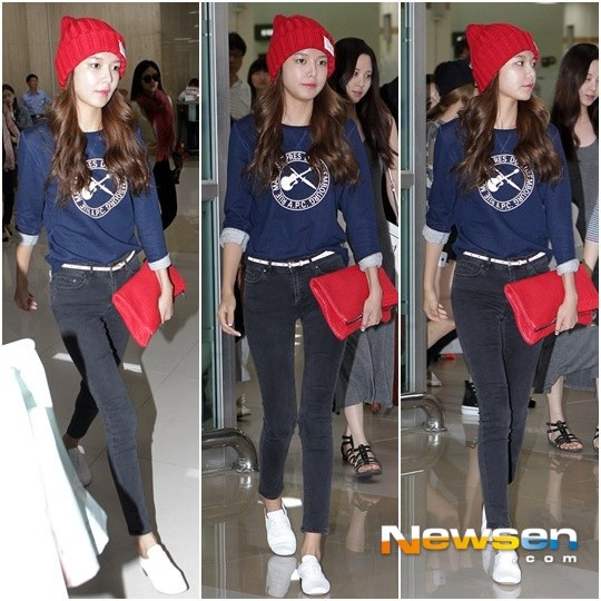 Girls`Generation's Photos from their Arrival in South Korea from Japan!