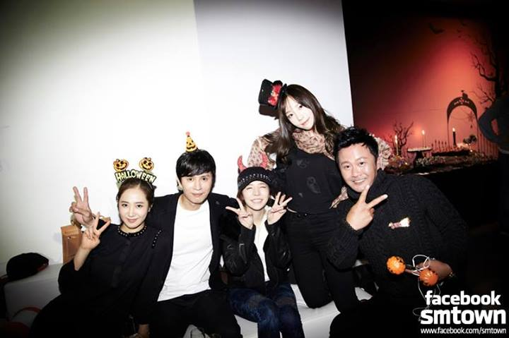 Girls`Generation and Other SM Artists Photos from SMTown's Halloween Party!