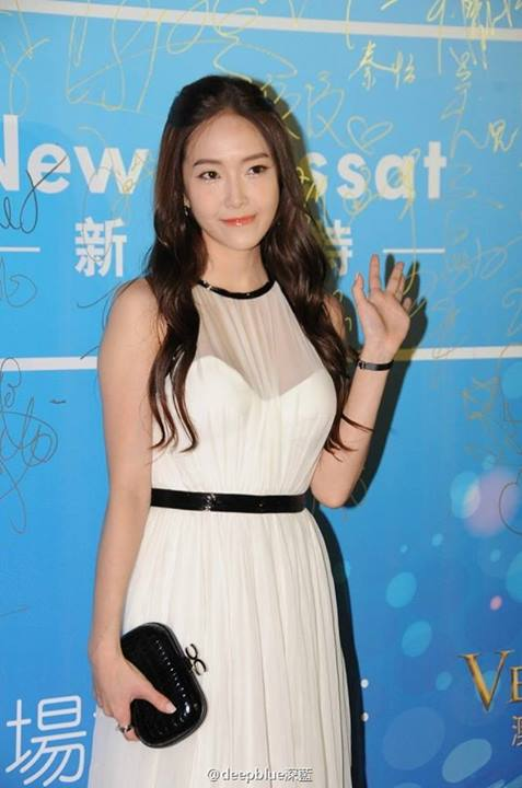 Girls`Generation's Jessica Attended the 10th Huading Awards to Receive SNSD's Award!