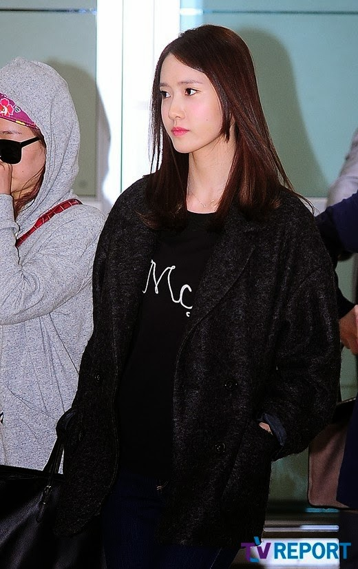 Girls`Generation Arrival Photos at Airport from Japan!