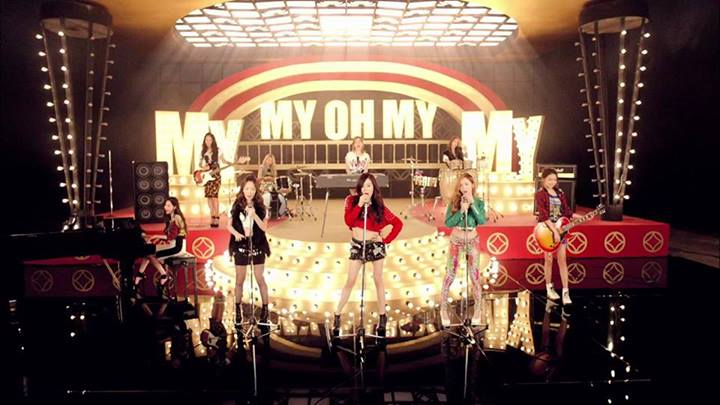 Girls`Generation's MV for 'My Oh My' Released!