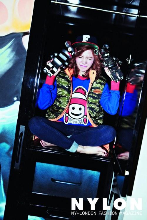 Girls`Generation Sunny's Photos from Nylon Magazine!